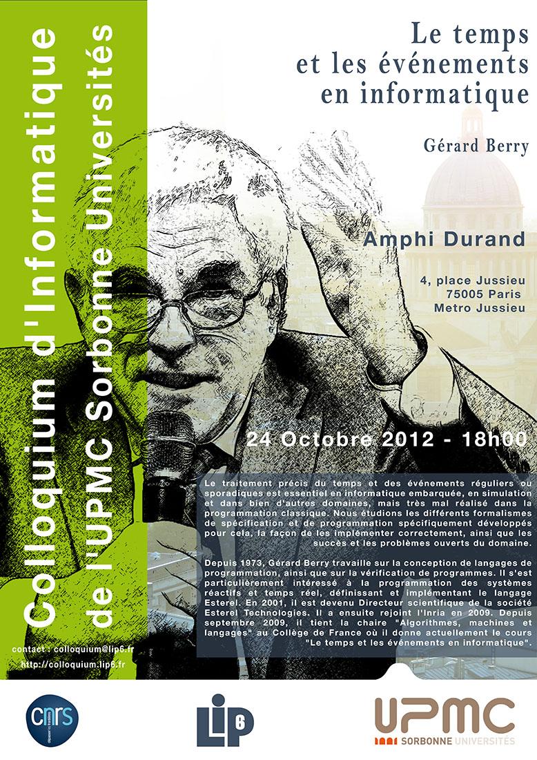colloquium of g u00e9rard berry