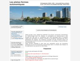http://www-phare.lip6.fr/journee-autonomique/