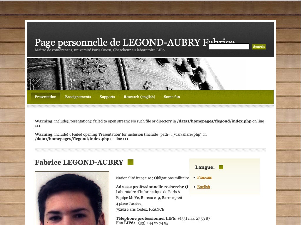 https://pages.lip6.fr/Fabrice.Legond-Aubry